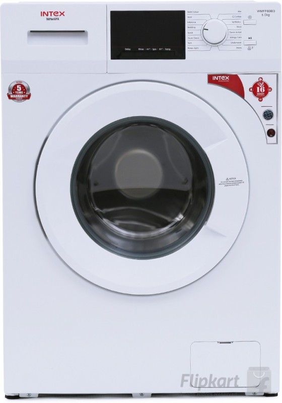 INTEX WMFF60BD 6KG Fully Automatic Front Load Washing Machine