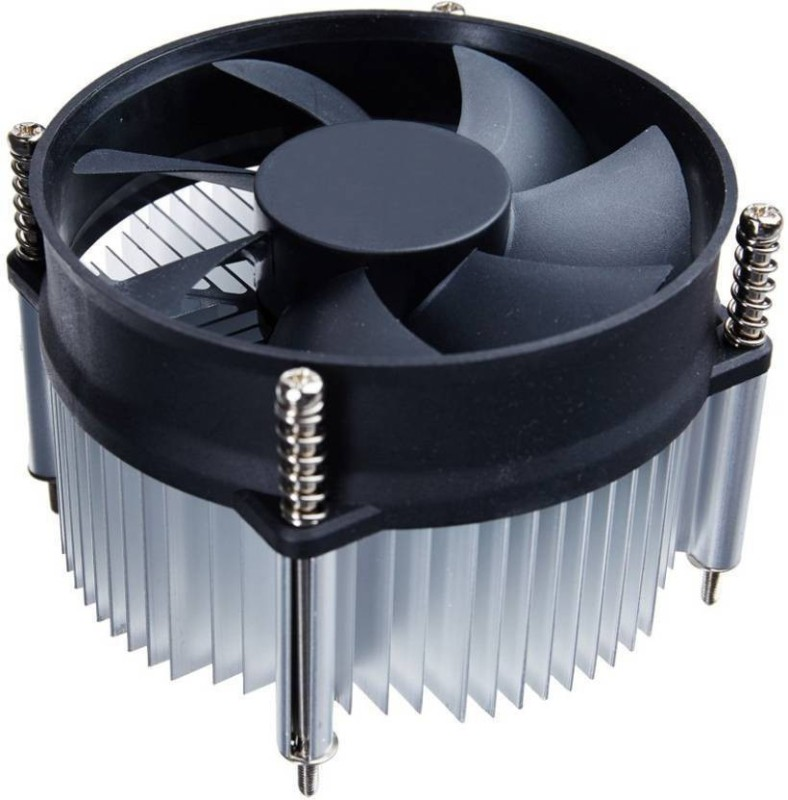 Plutofit Cpu Cooling Fan Socket 775 Cooler Cooler(Black)