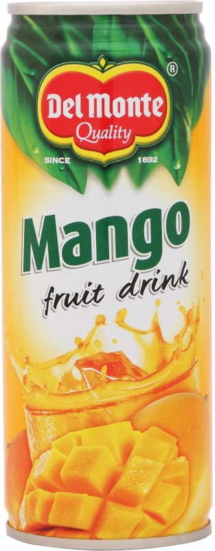 Del Monte Mango Fruit Drink 240 ml