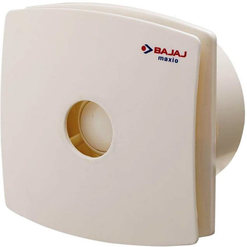 Bajaj MAXIO 100 MM BIANCO DOM 3 Blade Exhaust Fan(Peppy Red)