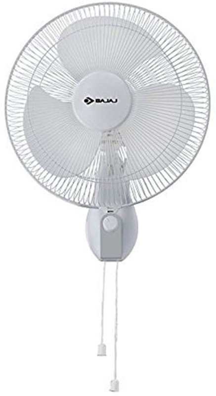 Bajaj NEO SPECTRUM 300 MM GREY 3 Blade Wall Fan(Peppy Red)