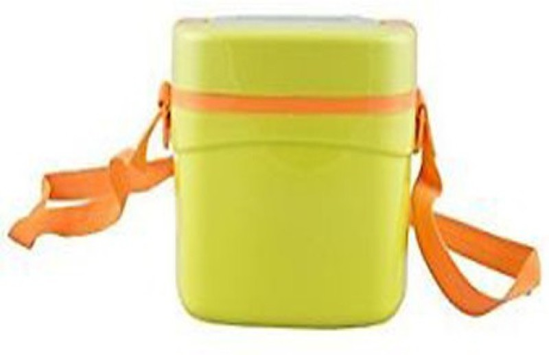 Cello Qube Big 2 Containers Lunch Box(600 ml)
