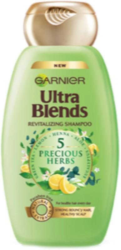 Garnier Ultra Blends 5 Precious Herbs Shampoo(175 ml)
