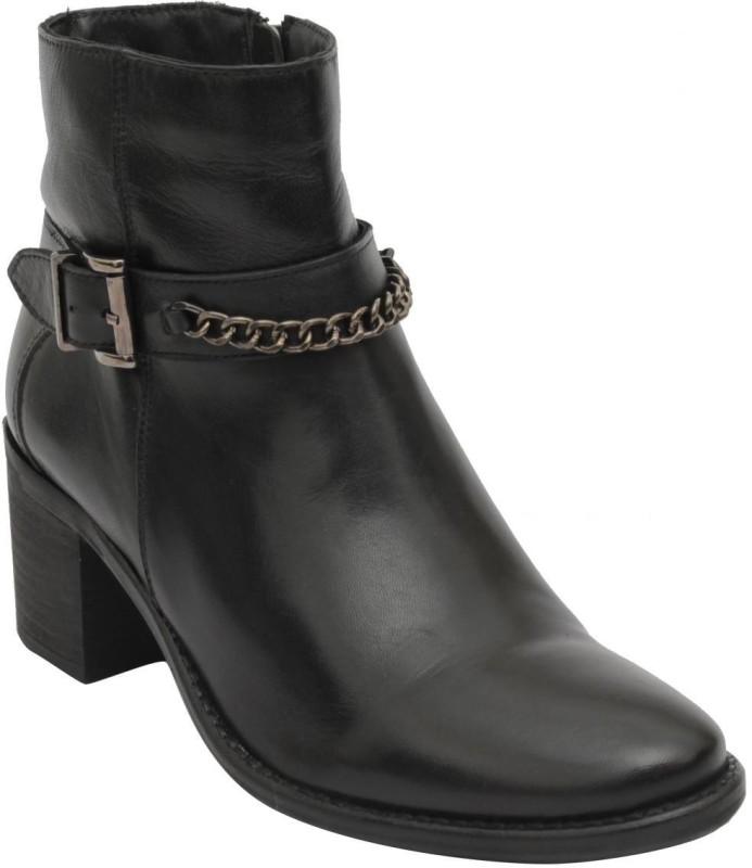 Salt N Pepper Boots(Black)