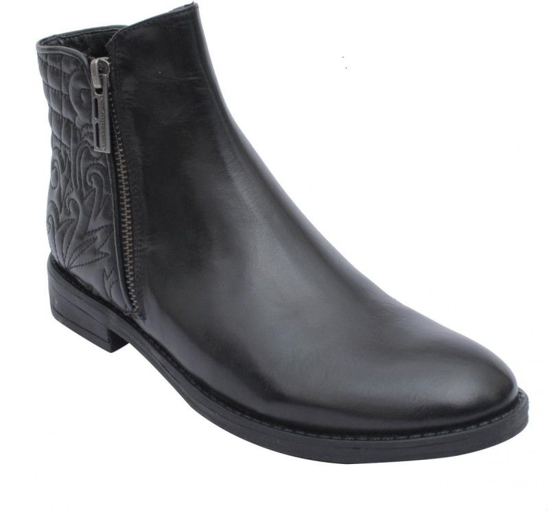 Salt N Pepper Women's Boots For Women(37, Black) image