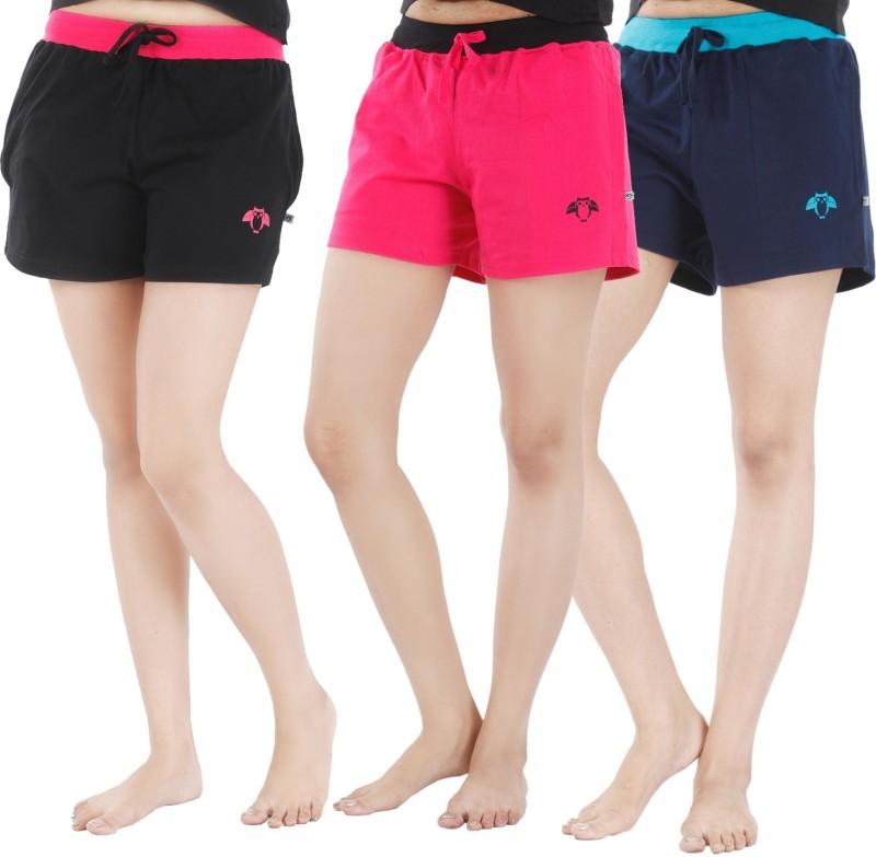 Nite Flite Printed Women Multicolor Night Shorts