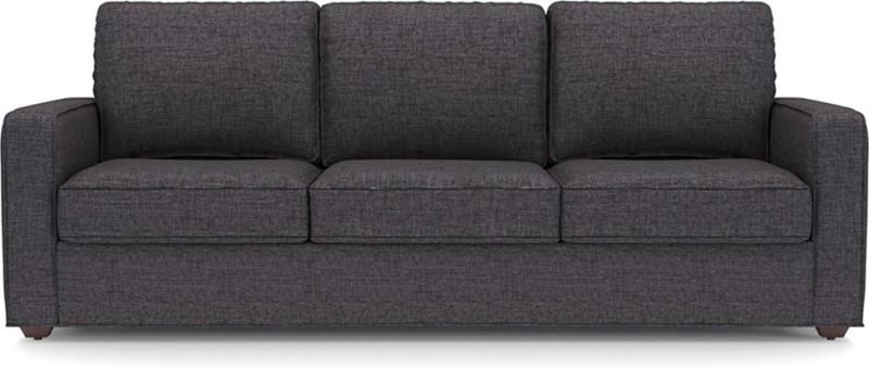 Urban Ladder Apollo Fabric 3 + 2 + 1 + 1 Steel Sofa Set