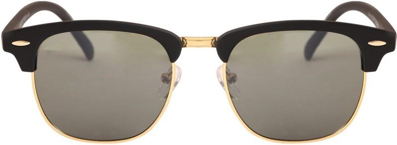Eyevy Clubmaster Sunglasses(Black) image