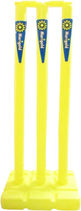 Marigold Plastic Wicket Set(Yellow)