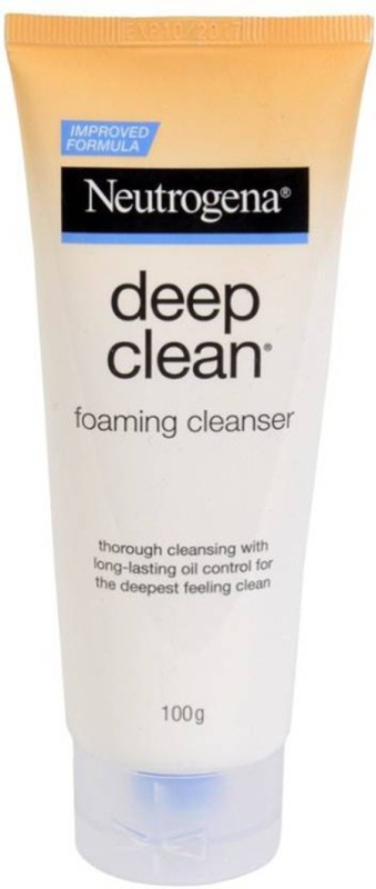 Neutrogena Deep Clean Foaming Cleanser Face Wash(100 g)