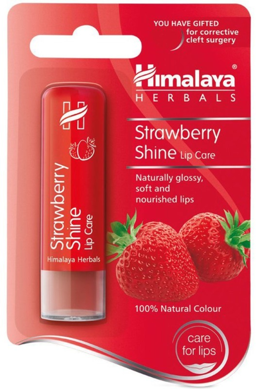 Himalaya Shine Lip Care Strawberry(4.5 g)