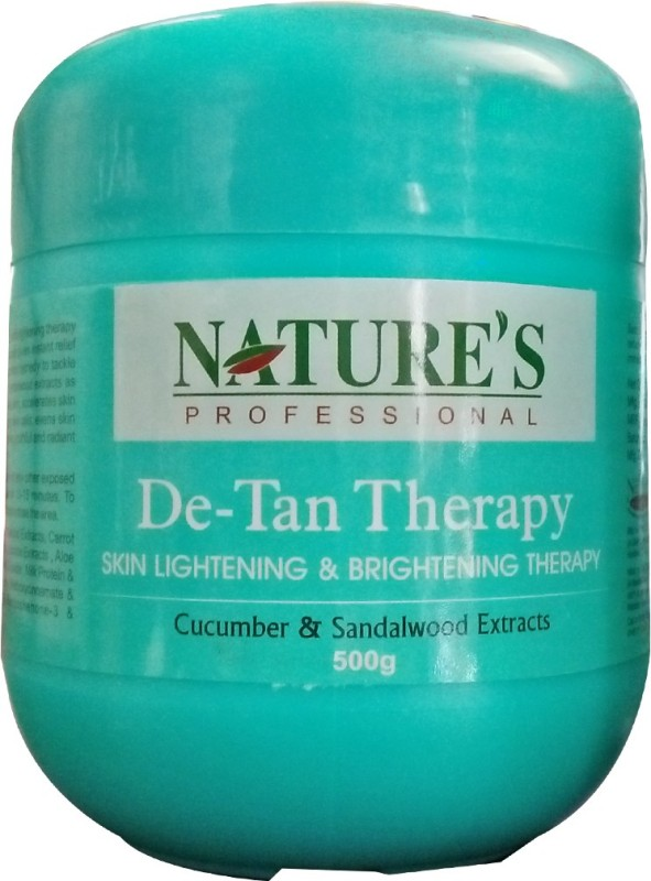 Nature's De-Tan Therapy Skin Lightening and Brightening therapy(500 g)