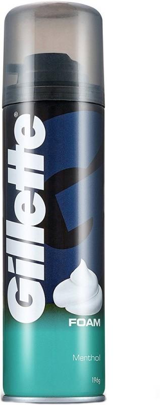 Gillette Menthol Pre Shave Foam(196 g)