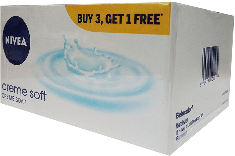 Nivea Creme Soft Soap(225 g, Pack of 3)