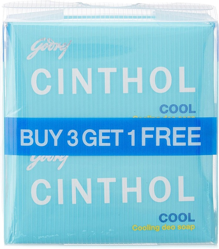 Cinthol Cool Soap(375 g, Pack of 3)