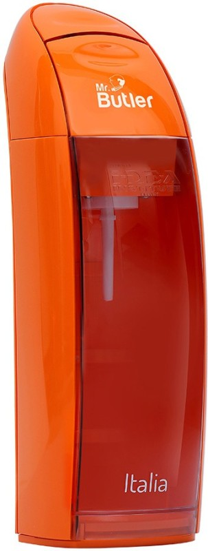 Mr. Butler Italia Orange (2 cylinder Pack) Soda Maker(Orange)