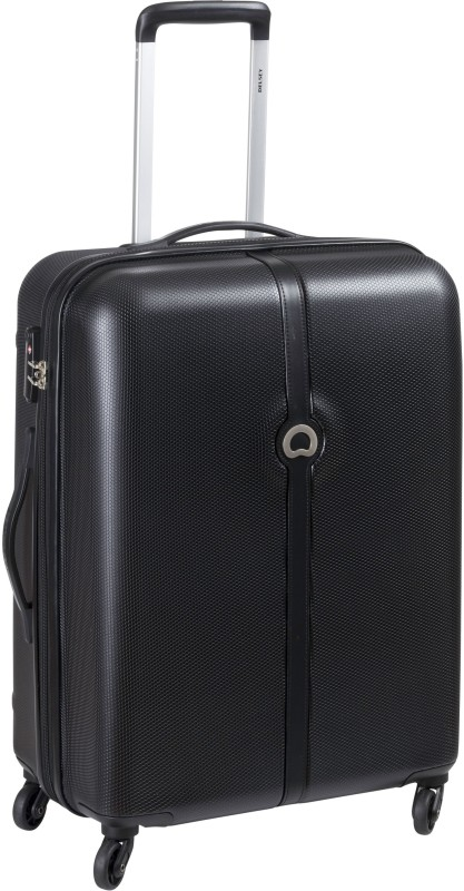 Delsey Clava Check-in Luggage - 62 inch(Black)