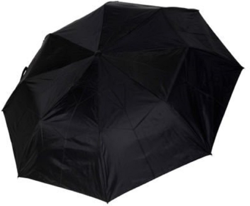 Holiday 3 Fold Umbrella(Black)