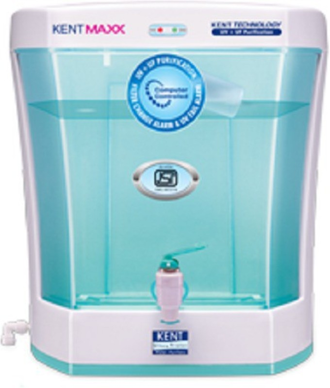 Kent Maxx 7 L UV + UF Water Purifier(White)