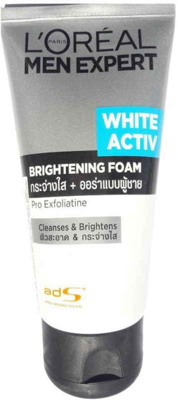 LOreal Paris Men Expert Brightening Foam Face Wash(100 ml)