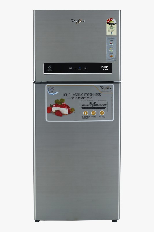 Whirlpool 245 L Frost Free Double Door 3 Star Refrigerator(Illusia Steel, NEO IF258 ELT 3S)