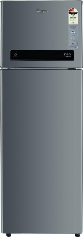 Whirlpool 292 L Frost Free Double Door 3 Star Refrigerator(Alpha Steel, NEO DF305 PRM ALPHA STEEL(3S))