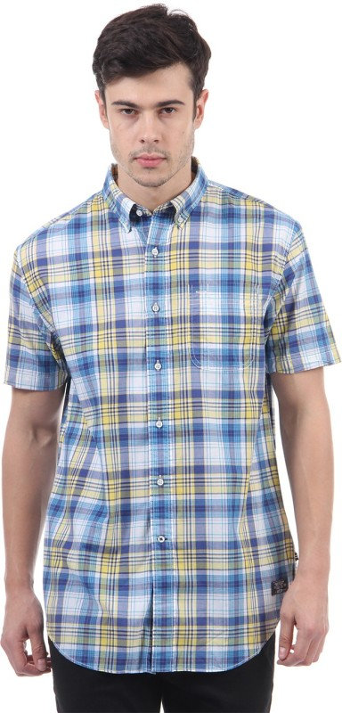 Nautica Men's Checkered Casual Multicolor Shirt