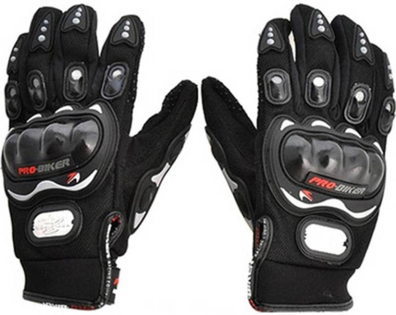 ENERZY Pro Biking FBZ Riding Gloves (XL, Black)