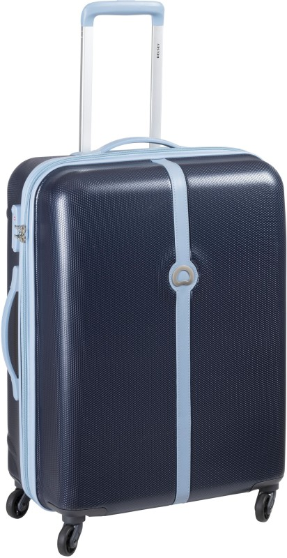 Delsey Clava Check-in Luggage - 24 inch(Blue)