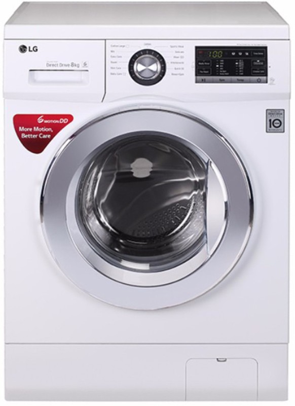 LG FH4G6TDNL22 8KG Fully Automatic Front Load Washing Machine