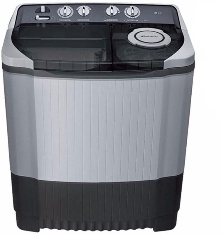 LG 8 kg Semi Automatic Top Load Washing Machine Grey(P9039R3SM)
