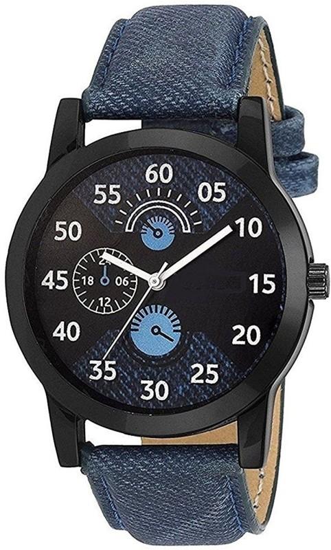 Aaradhya Fashion Men in Blue Analog Watch - For Men