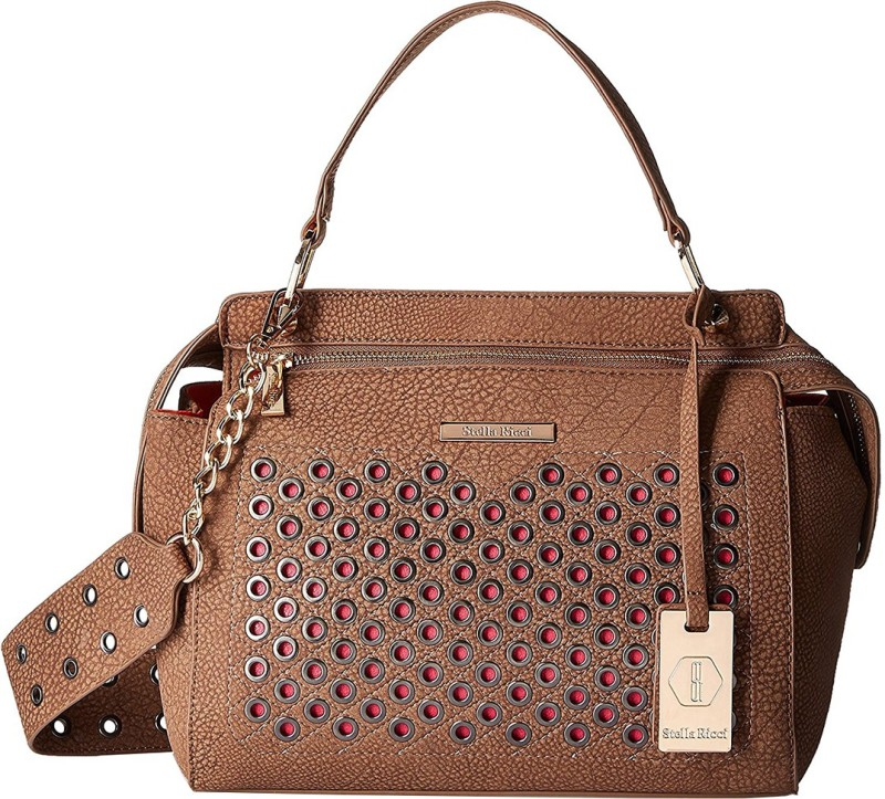 Stella Ricci Hand-held Bag(Brown)