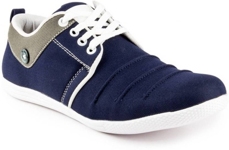 Clerk Boys Lace Sneakers(Dark Blue)