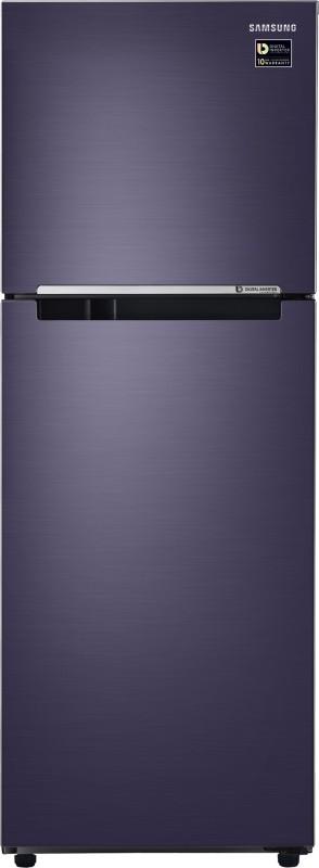 Samsung 253 L Frost Free Double Door Refrigerator(Pebble Blue, RT28M3044UT/NL/RT28M3044UT/HL)