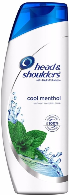 Head & Shoulders Cool Menthol Shampoo(180 ml)