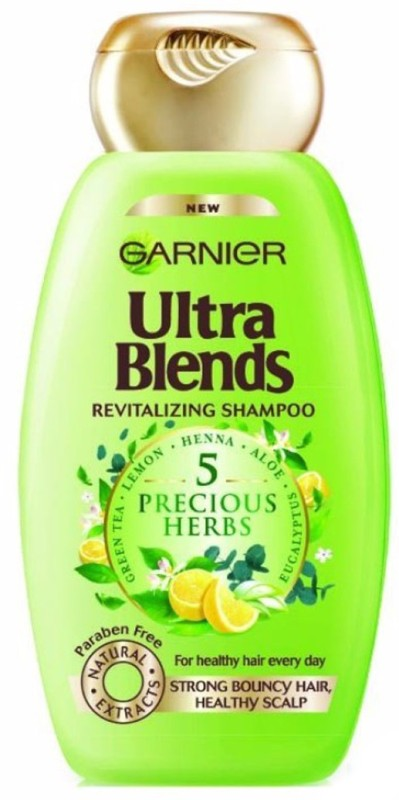 Garnier Ultra Blends 5 Precious Herbs Shampoo(340 ml)