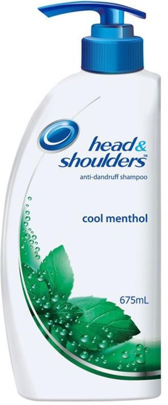 Head & Shoulders Cool Menthol Shampoo(675 ml)