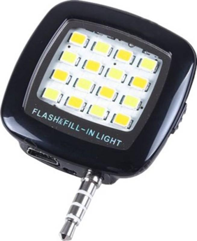 Blue Apple Mini 16 LED Night Flashlight Flash(Multicolor)