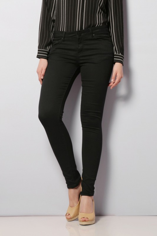 Van Heusen Regular Womens Black Jeans