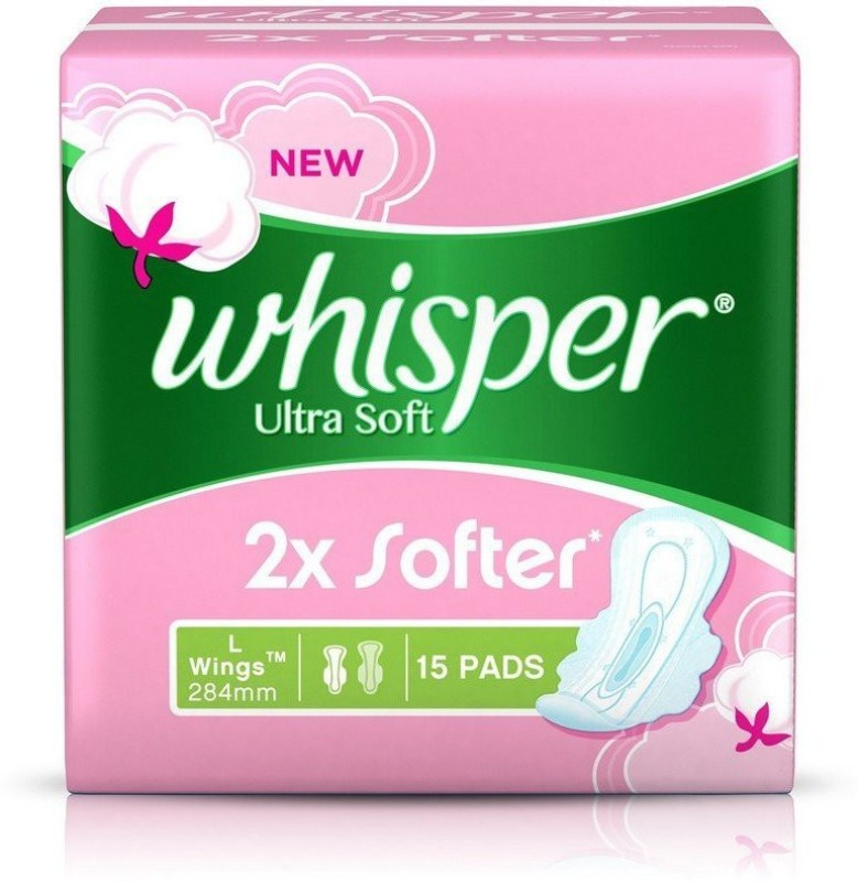 ultra-soft-large-l-15-sanitary-pad-whisper-original-imaevfrmztsqzeda Top 10 Best Quality Sanitary Pads In India – Have A Safe Period!