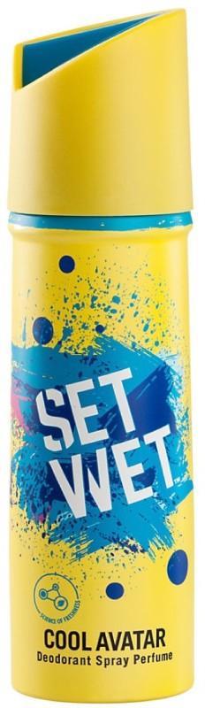 Set Wet cool avtar deodorant Body Spray - For Men(150 ml)