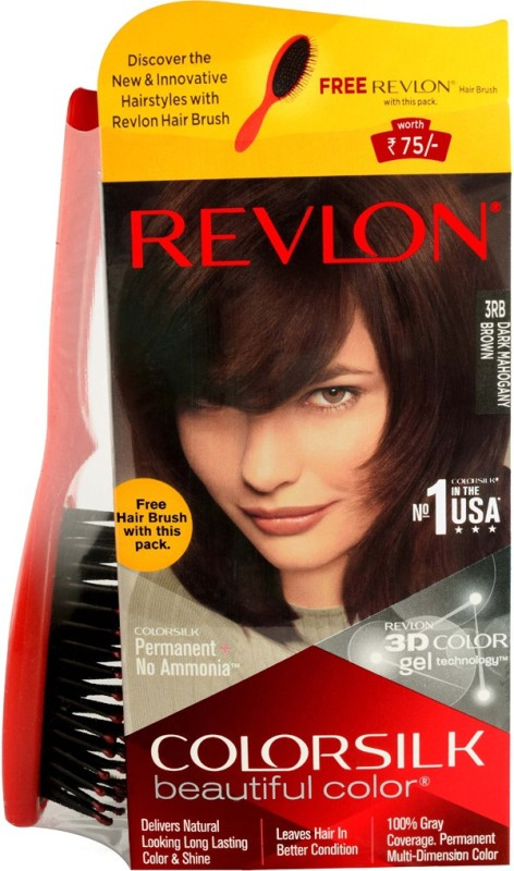 Revlon Colorsilk Hair Color(Dark Mahogany Brown 3RB)