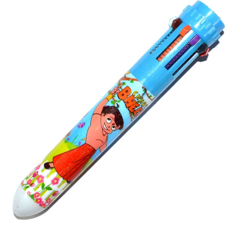 Pin to Pen Cartoon Multi-function Pen(Pack of 3)