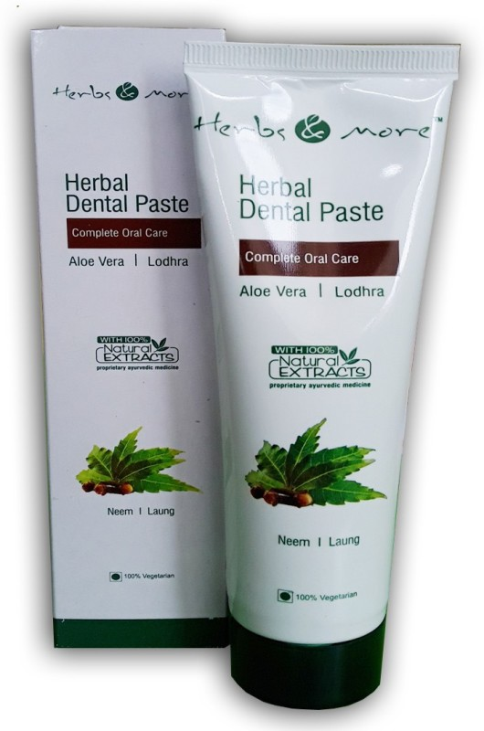 HERBS AND MORE Herbal Dental Paste Toothpaste(125 g)