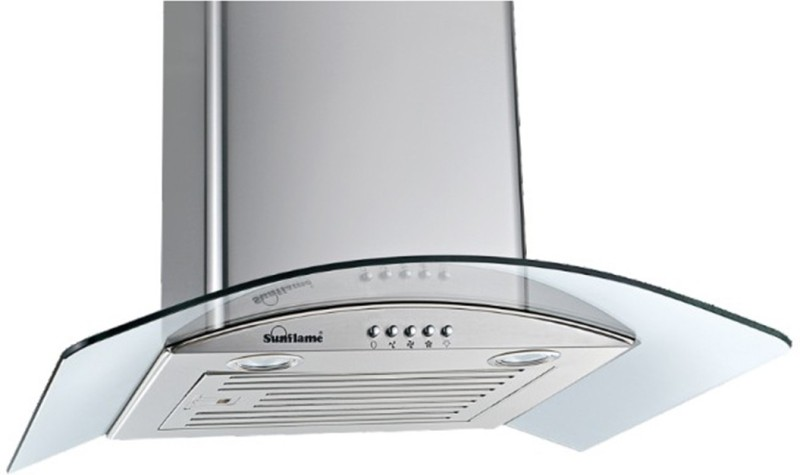 Sunflame TULIP 60 SS BF Wall and Ceiling Mounted Chimney(Stainless Steel 1100)