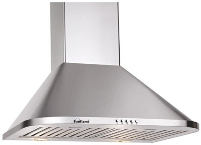 Sunflame MATRIX 60 SS BF Wall and Ceiling Mounted Chimney(Stainless Steel 1100)