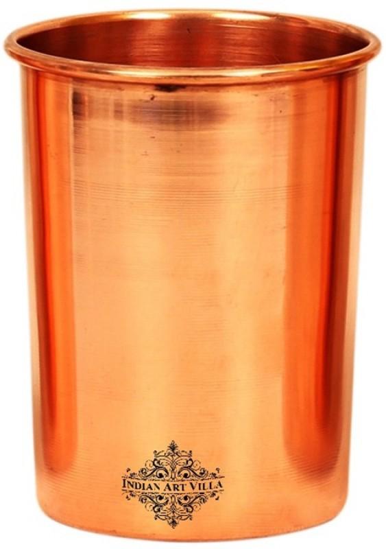 IndianArtVilla Glass(300 ml, Brown, Pack of 1)