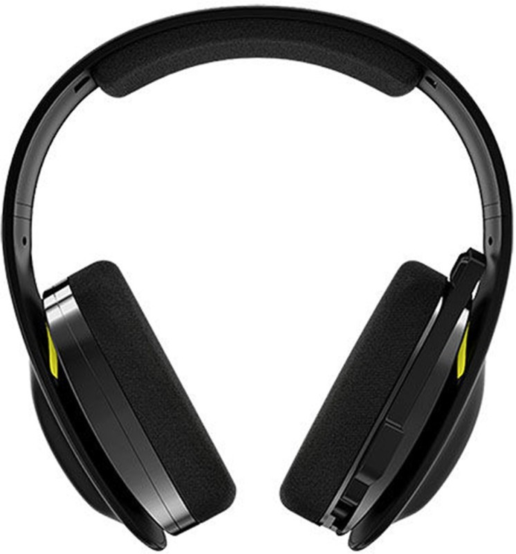 Skullcandy SLYR Headset with Mic(Black, Yellow, Over the Ear)