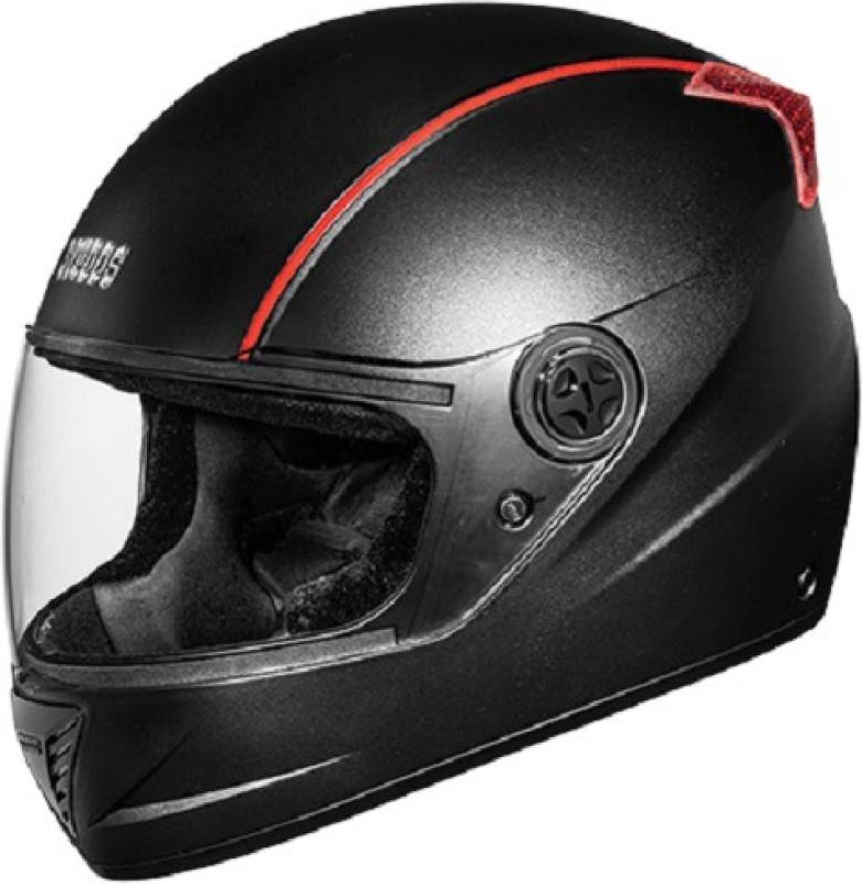 Studds Professional Motorsports Helmet(Black with Red)